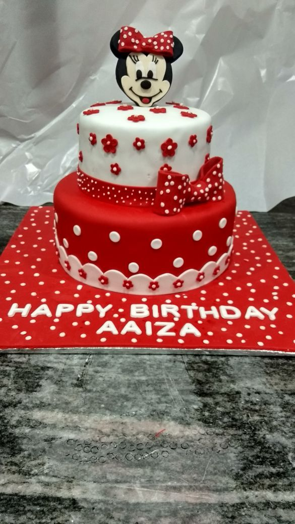 Prime Minnie Mouse Customised Cakes With Images Order Cake Cake Personalised Birthday Cards Veneteletsinfo