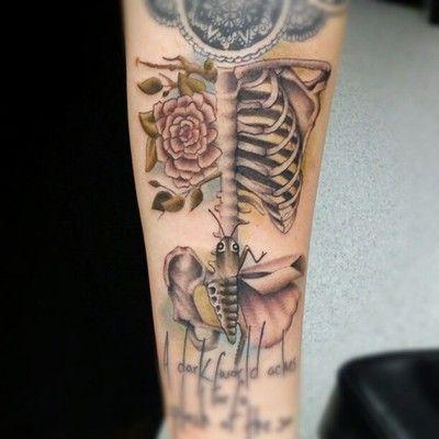 Ashley Neumann at Rockstar Tattoo Milwaukee WI tattoo