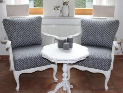 Barock-Sessel-Stuhl-Shabby-Antik-Chippendale-Armlehnstuhl-Holz - barock mobel modern ideen