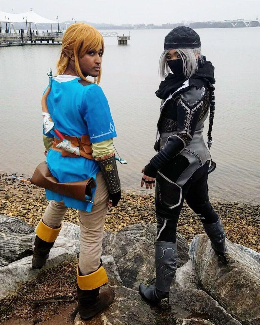 Link Legend Of Zelda Sheik Loz Cosplay Loz Cosplay Sheik Cosplay