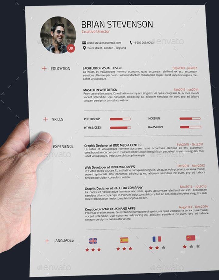 24 templates de cv sur photoshop template 24 templates de cv sur photoshop professional cvconceptioncurriculumcuriculum vitaetemplate yelopaper Image collections