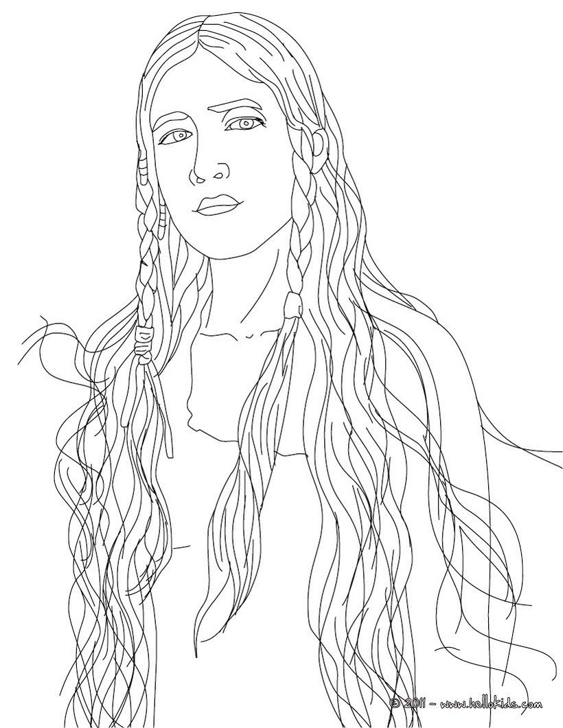 POCAHONTAS coloring page | Coloring Pages | Pinterest