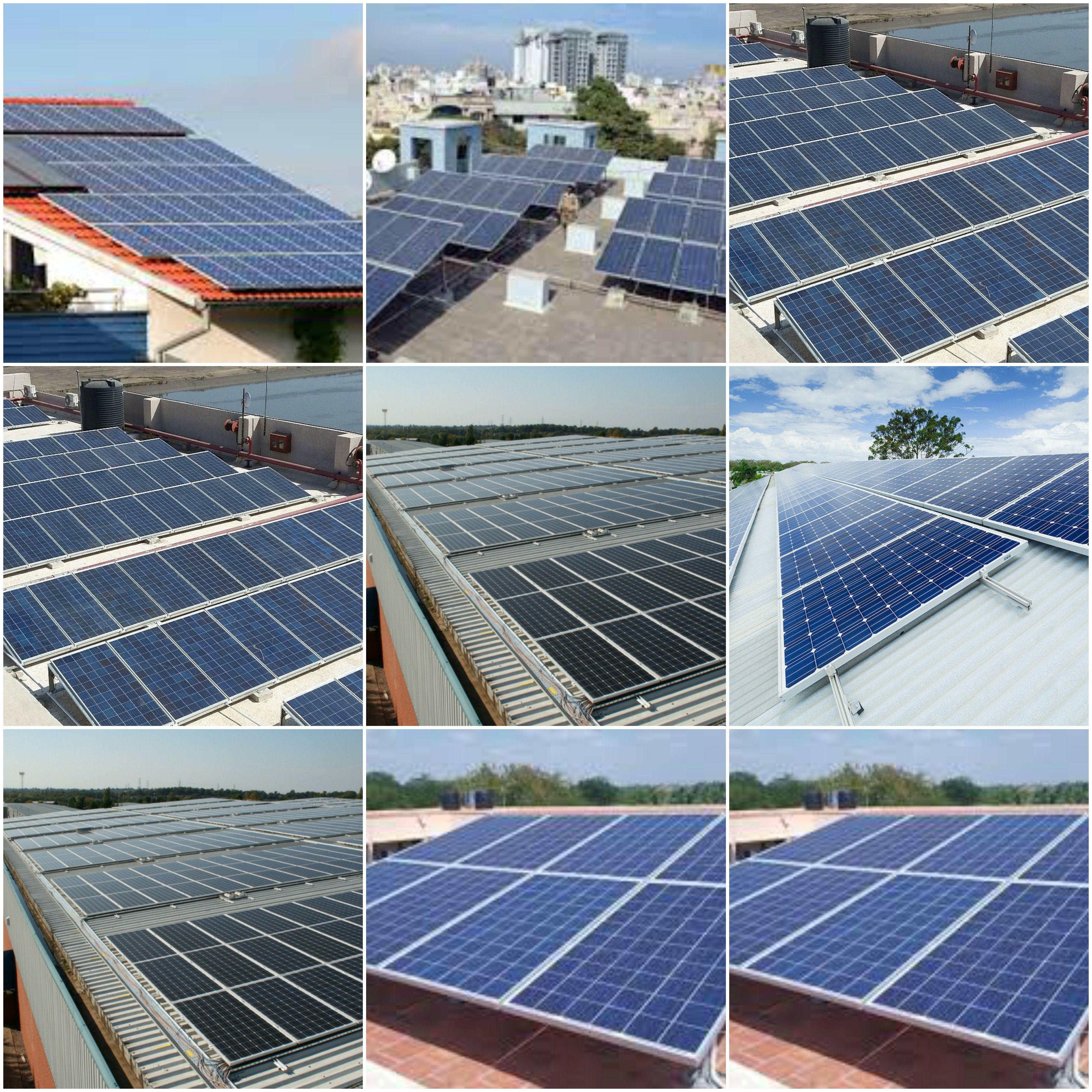 Renewable Energy Solar Sonnenkollektor Photovoltaik Anlagen