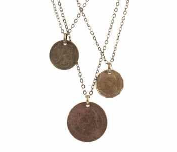 vintage coin pendants.