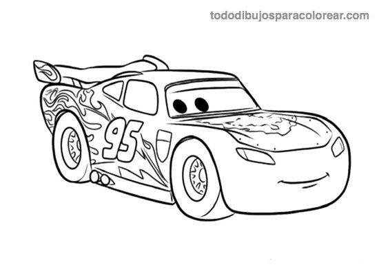 dibujos-de-rayo-mcqueen-para-colorear.jpg (550×388) | omalovánky ...