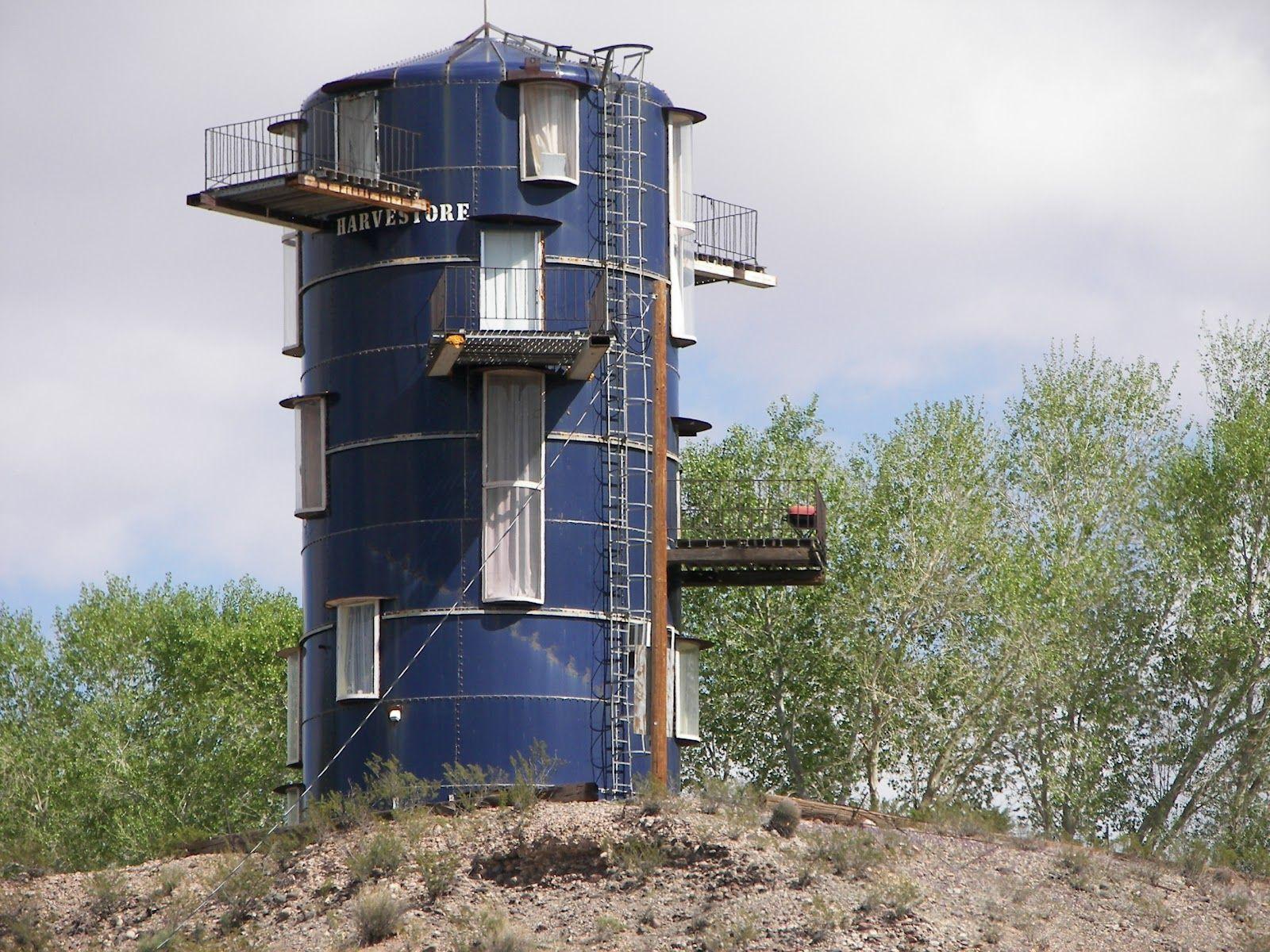 Silo House Reusing Farmer Silo