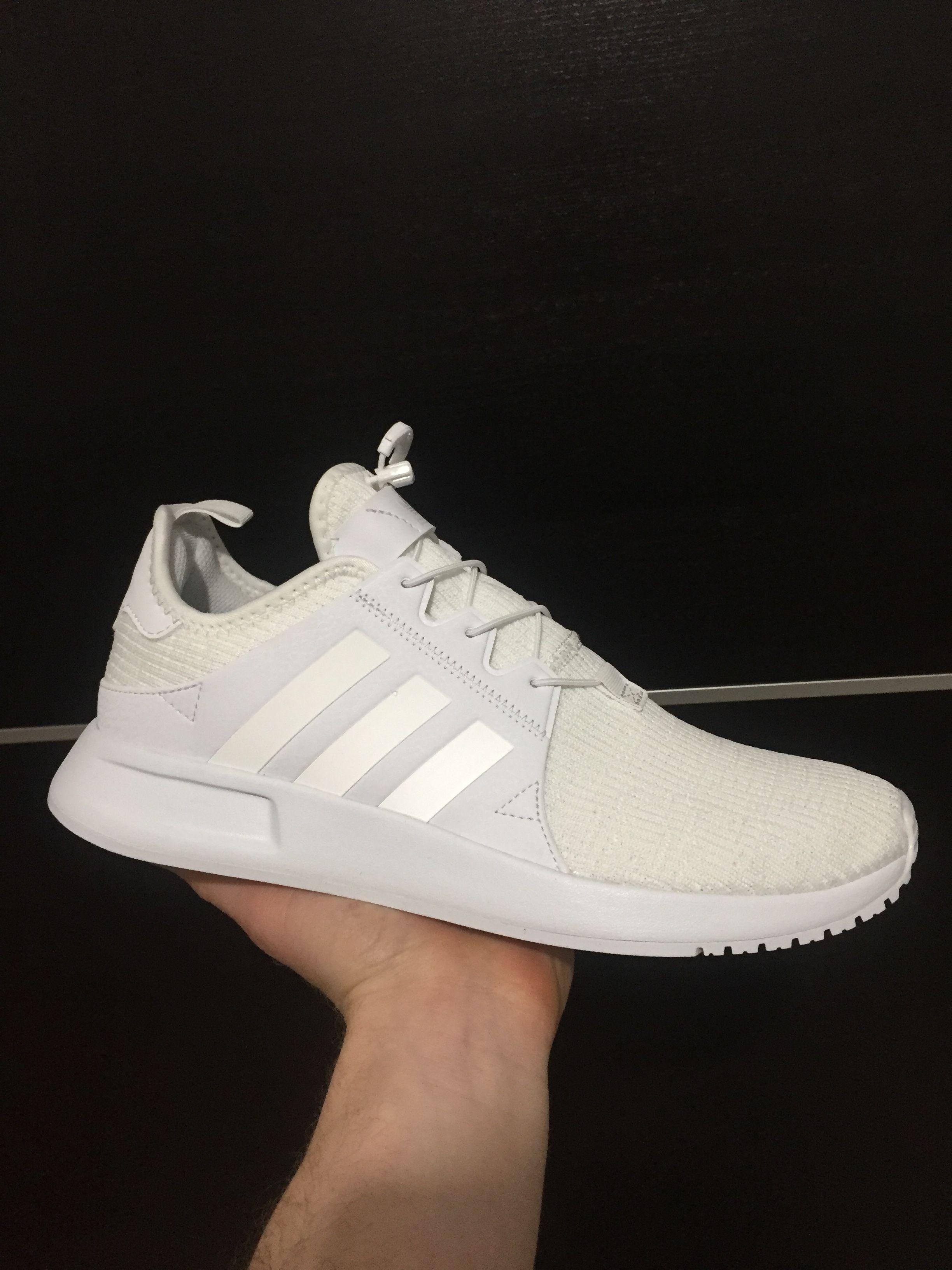 promo code 385ae f769a Adidas x plr total White
