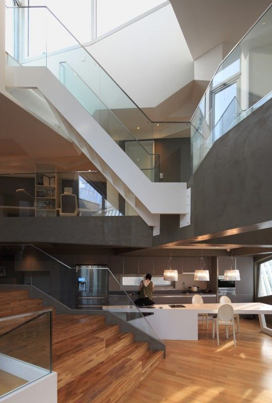 Kyeong Dok Jai Iroje Khm Architects Moderne Hauser Modern Design