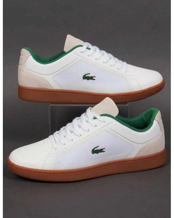 b808690f9c Lacoste Endliner Trainers White/gum,shoes,sneakers,mens,classic ...