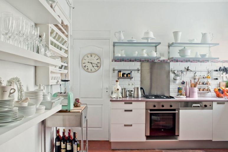 Un apartamento luminoso y refinado en París | Kitchen | Pinterest ...