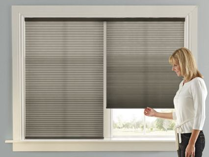 Cordless Top Down Bottom Up Day Night Accordia Cellular Shades Lowes Levolor Com Window Treatments Cellular Shades Insulating Shades