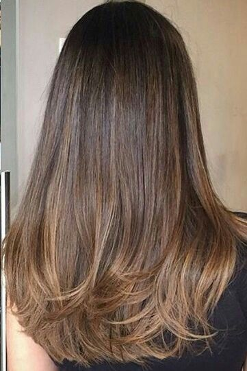 60 fashionable balayage hair color ideas for brunettes  – Haarfarben Ideen