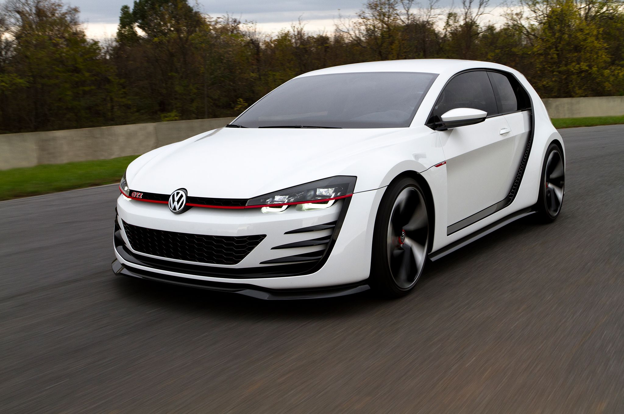 This is what you get when you combine a vw gti with an audi r8 volkswagen cars and golf