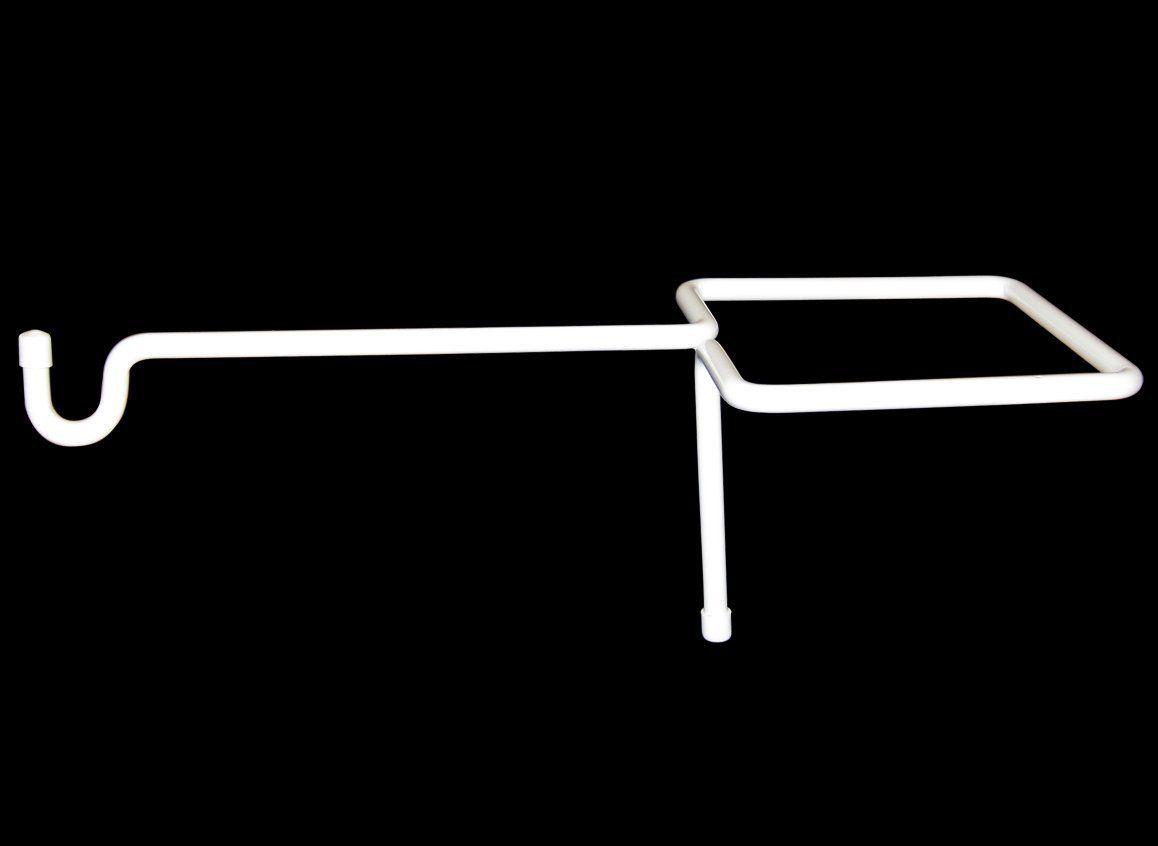Amazon Com Vinyl Fence Plant Accessory Post Hanger White