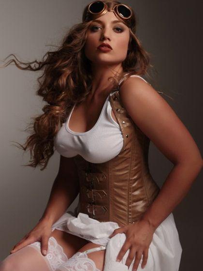 Chubby corset pics