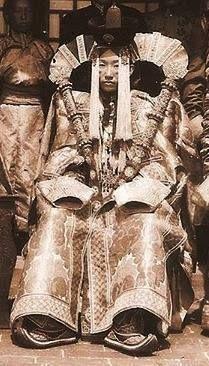 A Khalkha Mongolian noblewoman