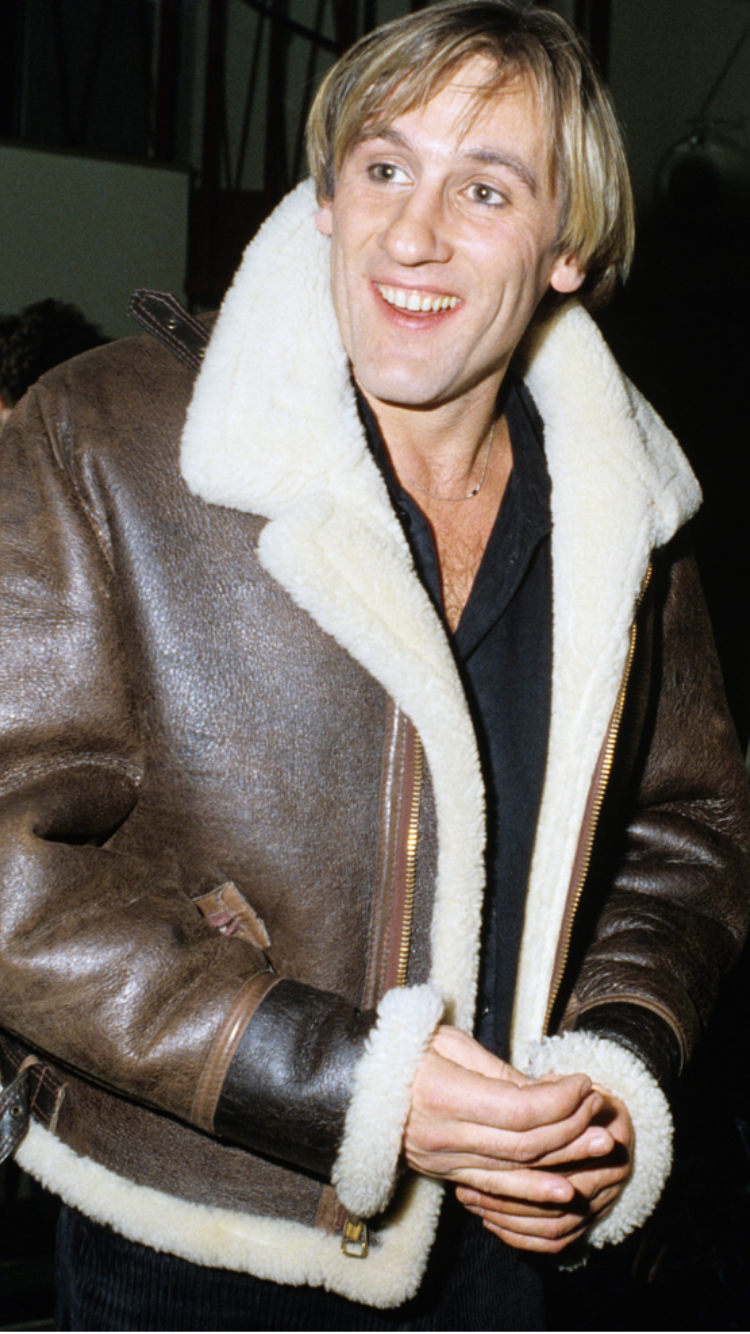 Looks Like A Young Gerard Depardieu Men In Fur