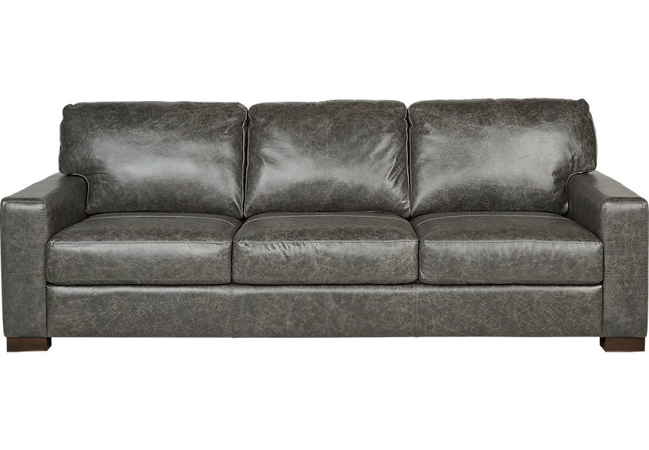 Gray Sofa An Element Of Luxury And Comfort Grey Leather Sofa Leather Sofa Grey Leather Couch