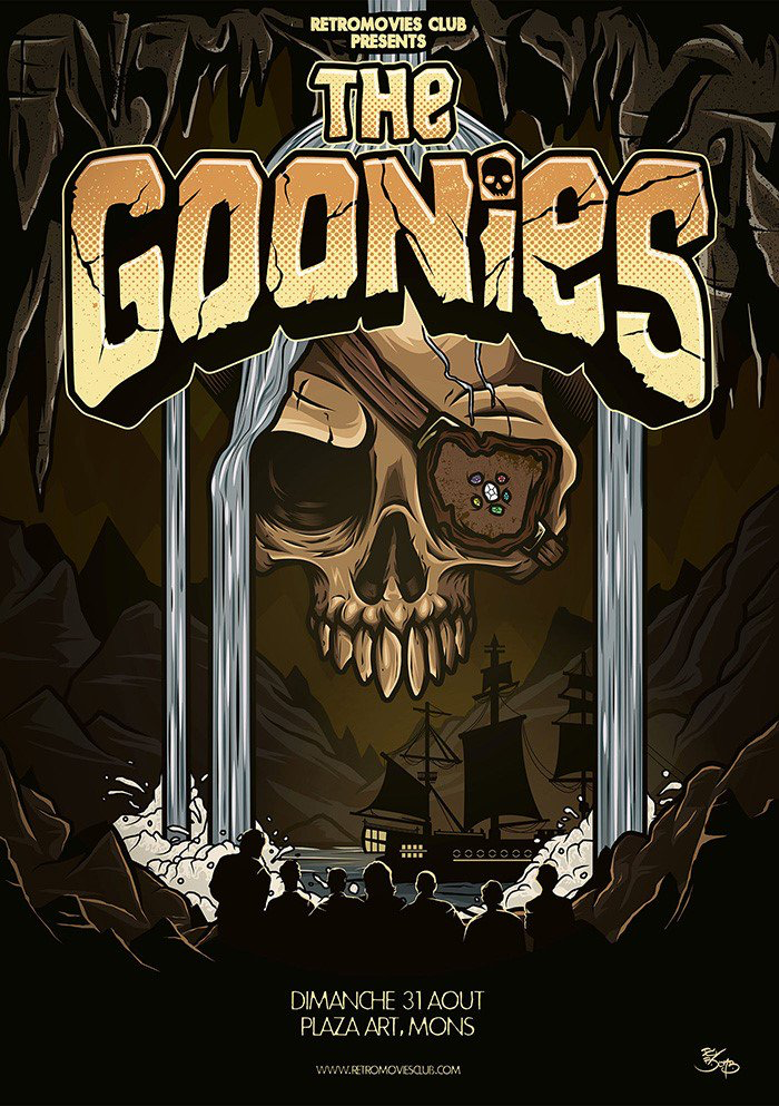 Pin by Iron Rhombus on Posters Goonies movie poster