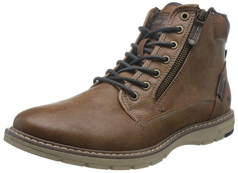 Mustang Herren 4105 502 301 Klassische Stiefel, Braun