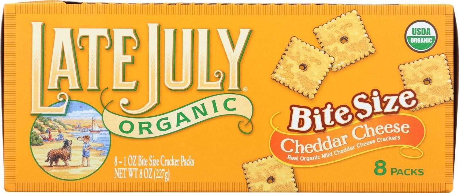 Late July Snacks Organic Bite Size Crackers