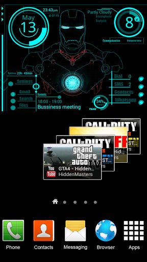 Download iron man jarvis theme android - faithopuki
