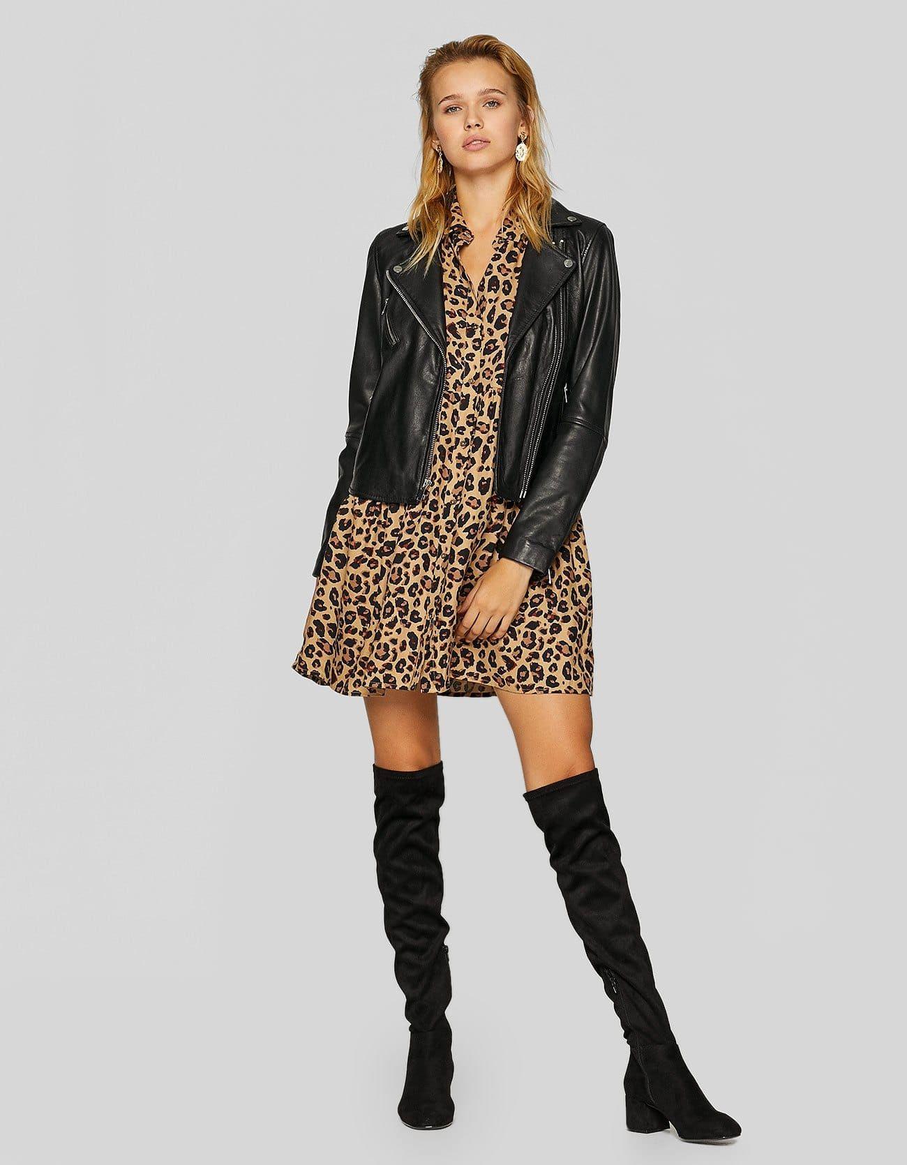 Vestido camisero animal print - Nuevo de mujer  28797b6f6c76