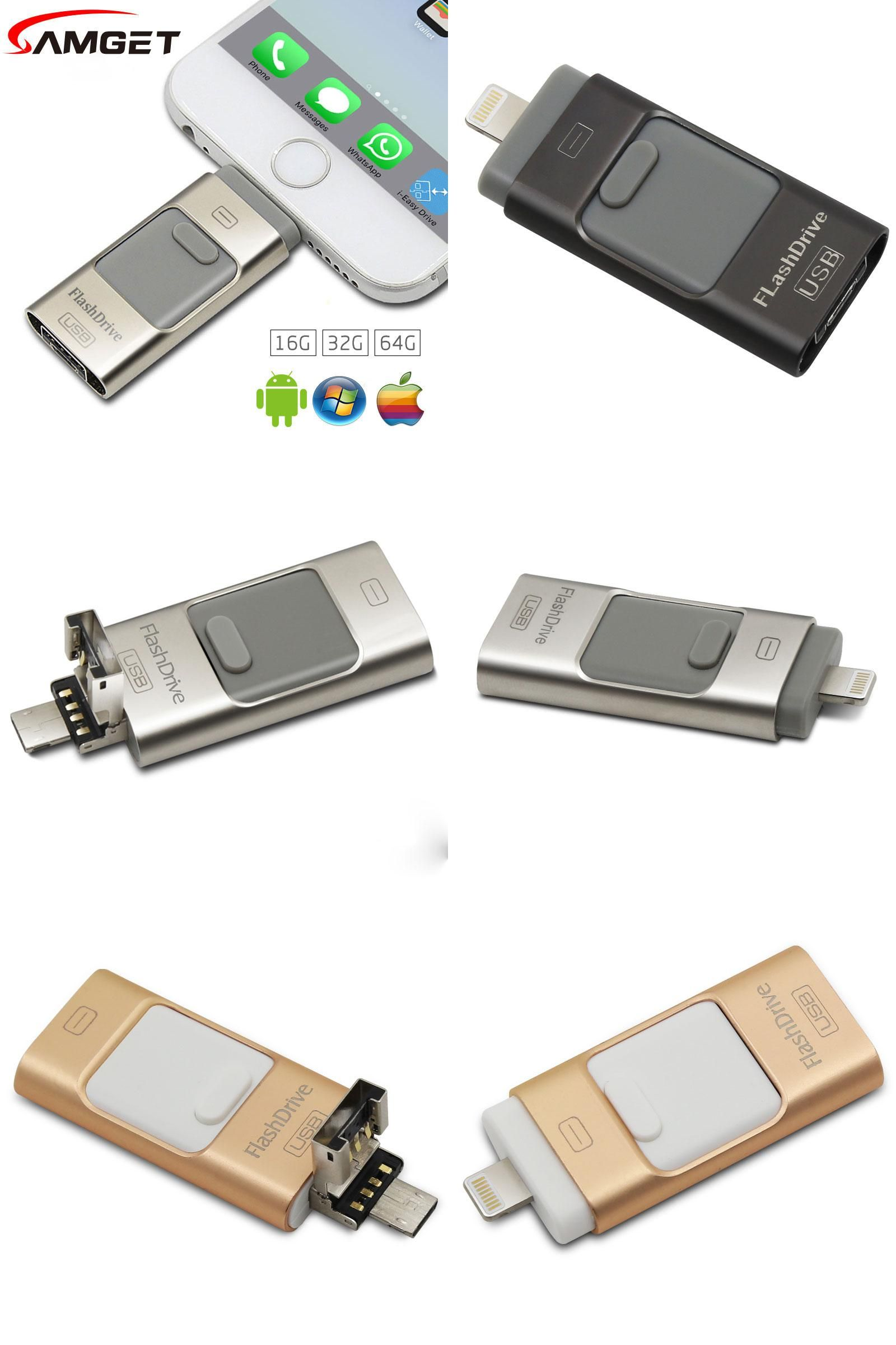 Visit To Buy Samget 3 In 1 Micro Usb 20 Metal Pen Drive Otg Flashdisk Samsung 64gb