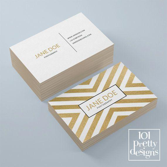 Golden business card template elegant business by 101prettydesigns golden business card template elegant business by 101prettydesigns wajeb Image collections