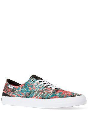 7ace06316ea4a7 The Prescott Sneaker in Spruce  amp  White Mili Stripe by Vans Footwear  Emily Ranta ·