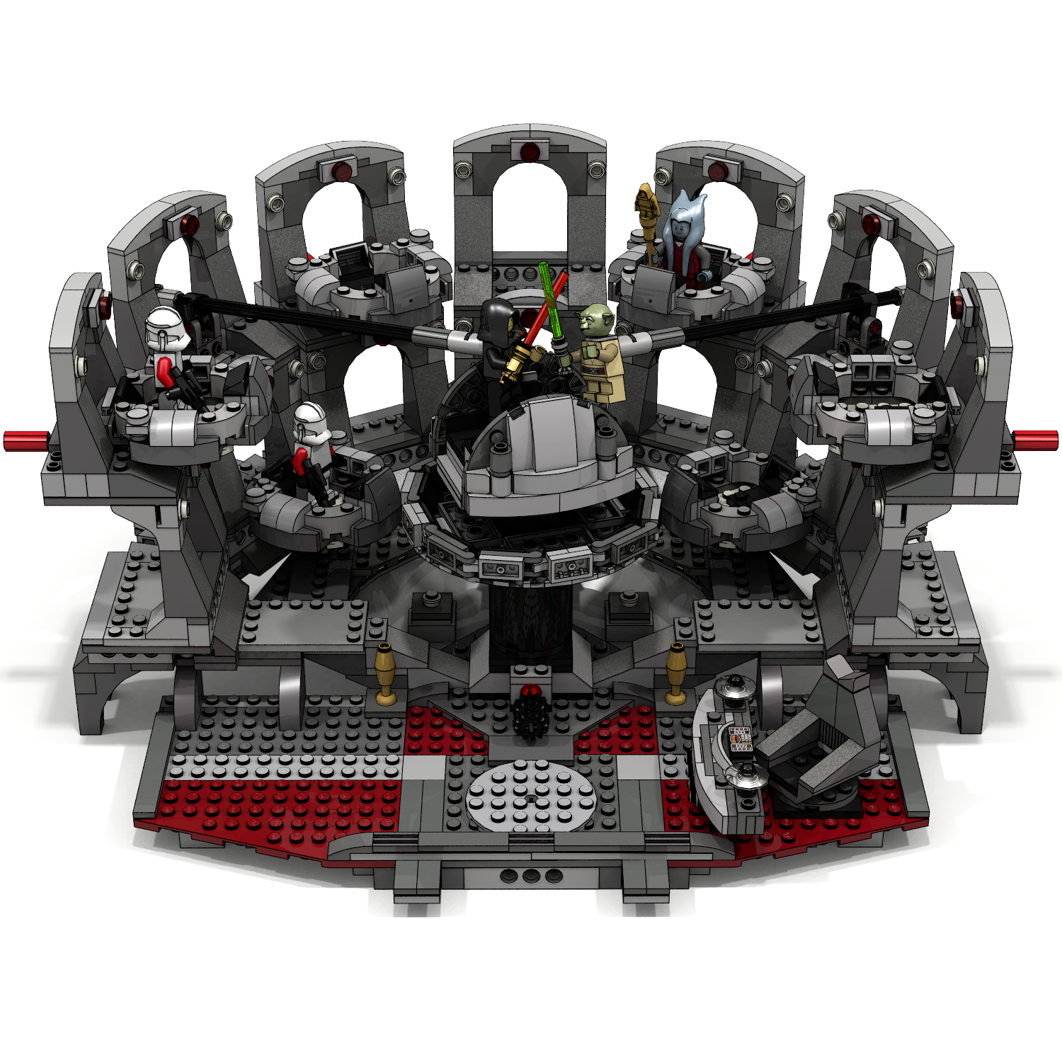 Check Out This LEGO Star Wars Duel In The Senate Set Idea