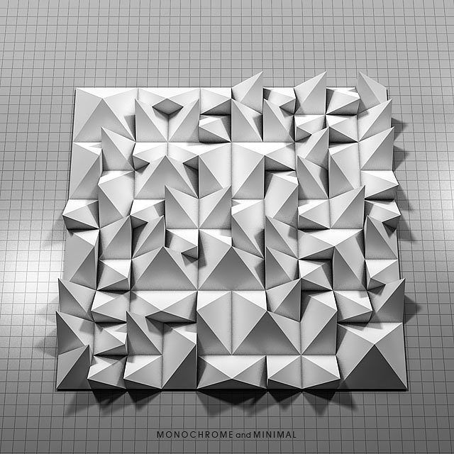 Instagram Photo By Project Pietern Artist May 3 2016 At 9 51pm Utc Motion Design Monochrome Paper Engineering