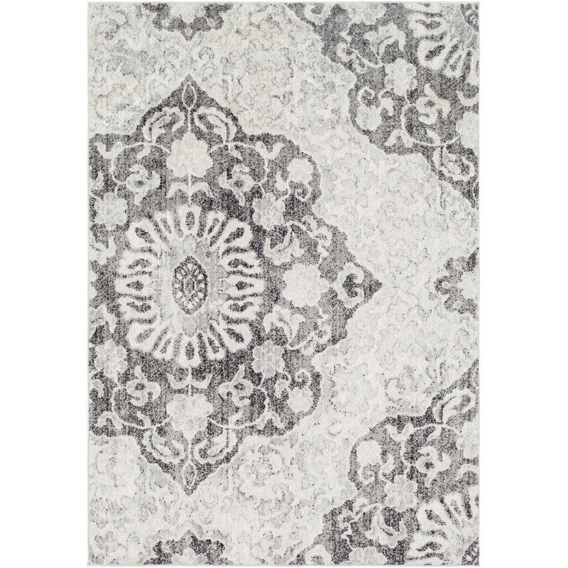 Drennen Distressed Charcoal Light Gray Area Rug Grey Area Rug Area Rugs Artistic Weavers