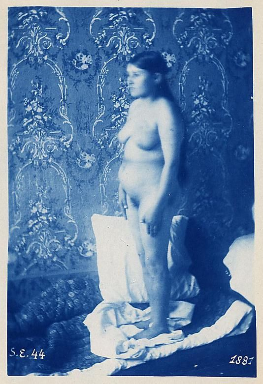 """Turkish Woman"" (1881), de Charles-Albert Arnoux Bertall. http://semioticas1.blogspot.com.br/2012/04/nu-perante-camera.html"