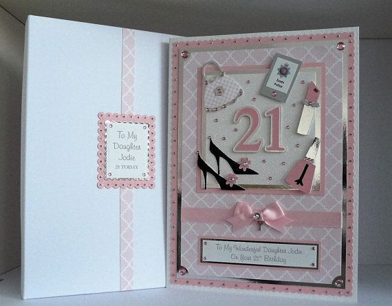 Large Birthday Card 18th 21st 30th 40th Etc Etsy Cards Handmade 40th Birthday Cards Birthday Cards
