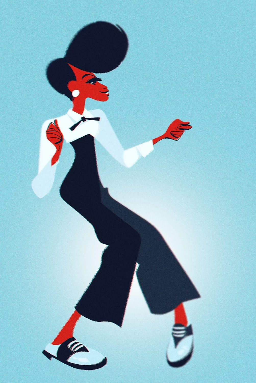 Monae | Illustrator: Bobby Pontillas #characterdesign