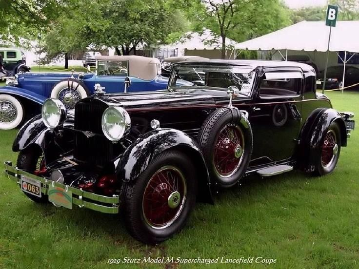 1929 Stutz Model M Supercharged Lancefield Coupe