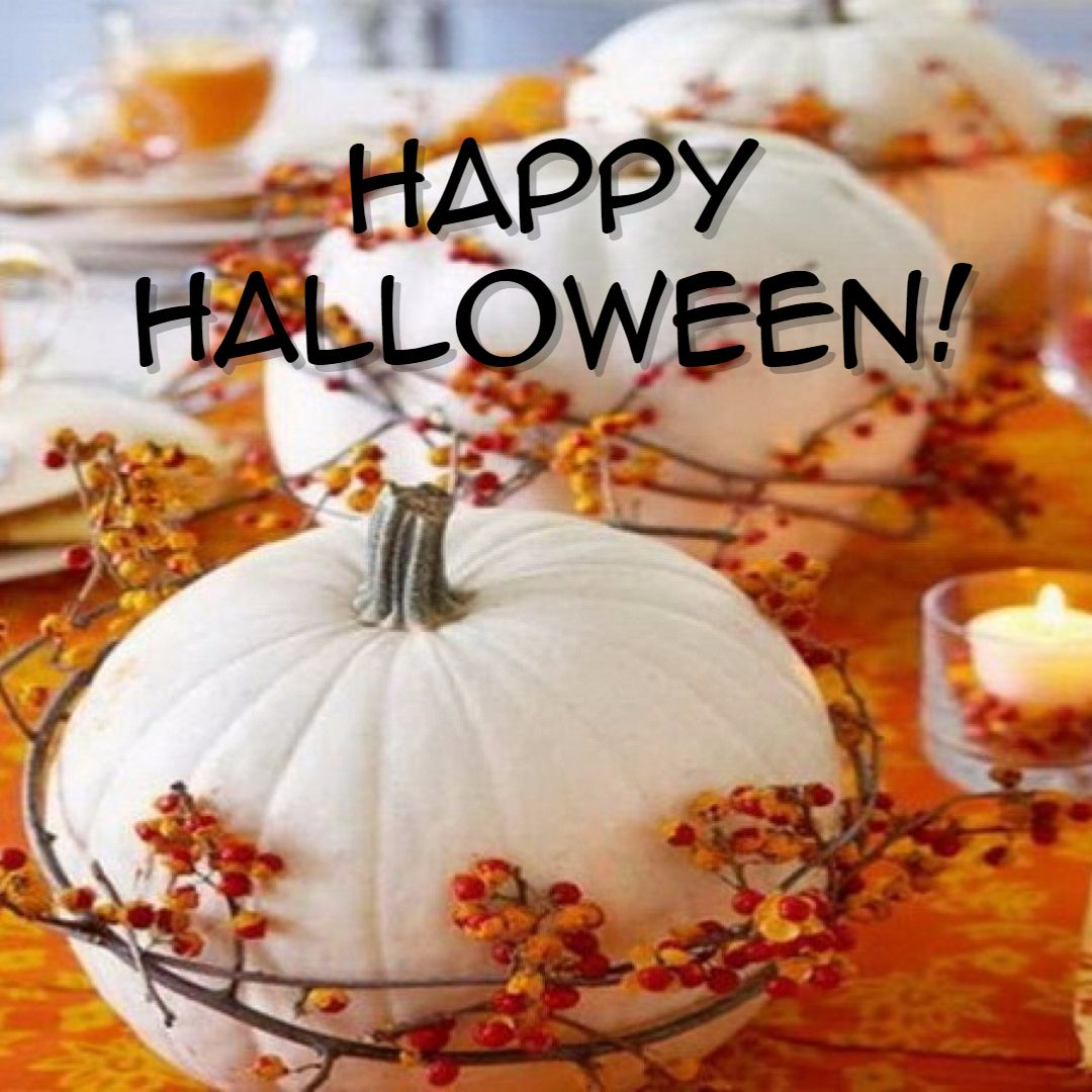 We want to wish you a very happy and safe Halloween! www
