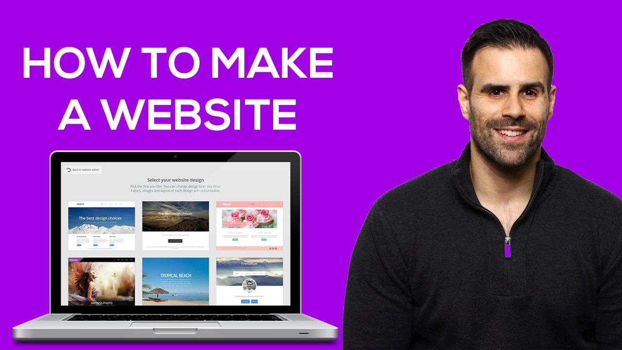 How to Make a Website in Just 10 Minutes! Online resume