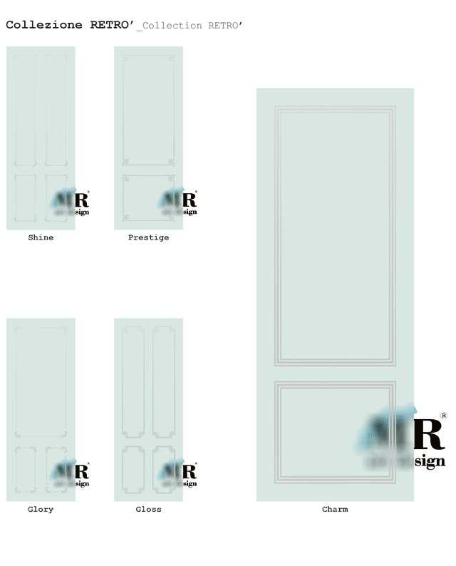 Collezione RETRO'_RETRO' Collection di #MRartdesign