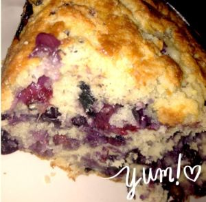 Yes!! It's finally blueberry season!  It was really good right out of the oven and extremely moist.  I've tried many recipes in the past, this will defiantly be one I will do again.  The most important part, it went over great with the kiddos!
