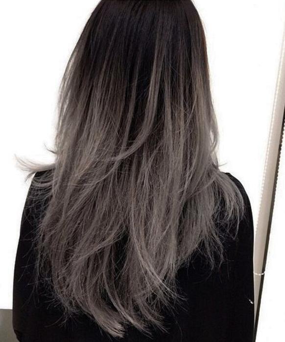 Voorkeur Silver Hair Color Trend - van grijze granny tot metallic silver in @BN83