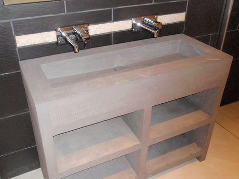 Fabrication du0027une vasque en Wedi  finition béton ciré et résine
