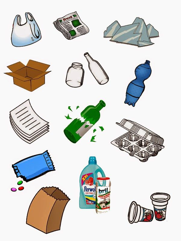 Recycleren: Knipblad