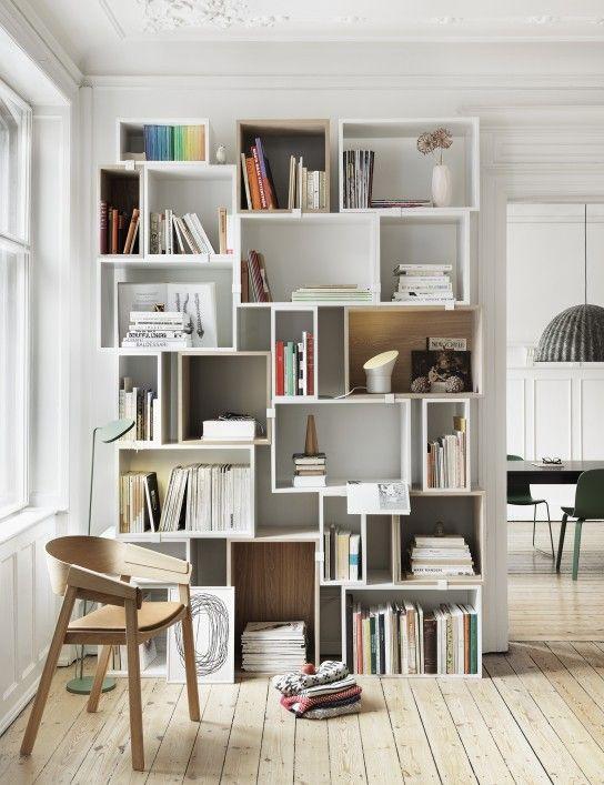 Kleine Räume einrichten: Regal als Raumtrenner | Shelves ...