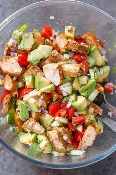 Healthy Avocado Chicken Salad images