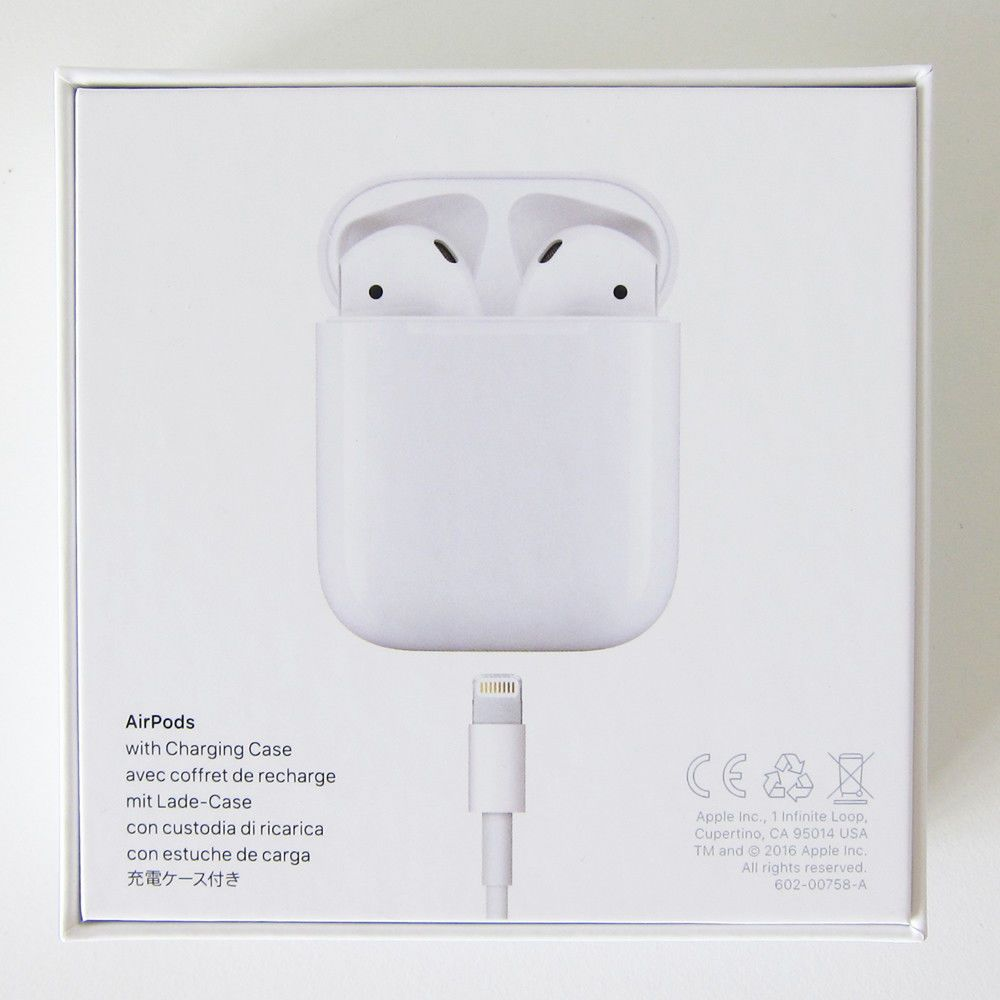 Apple Airpods White Mmef2am A Genuine Airpod Retail Box Airpod