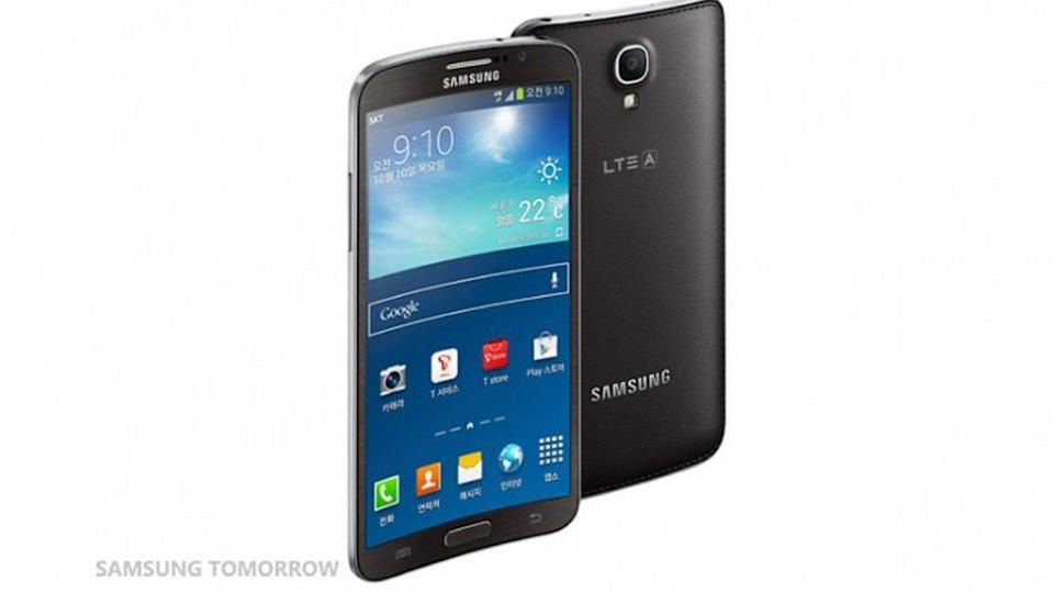 Samsung Galaxy Round The First Smartphone With A Curved Screen Samsung Galaxy Samsung Galaxy
