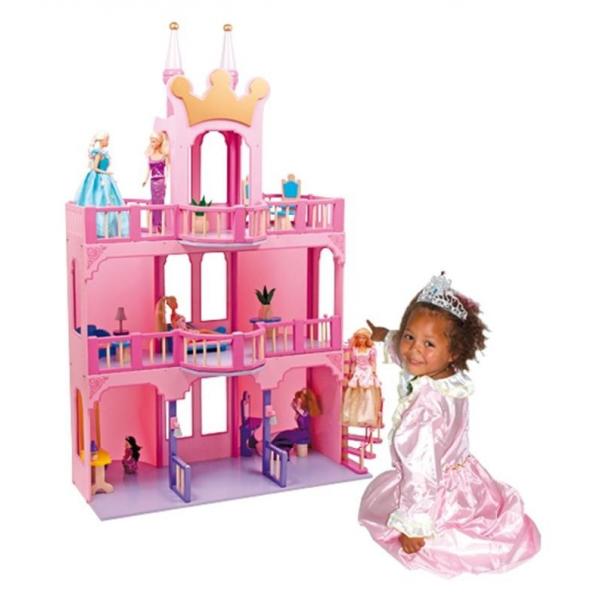 Base Toys poppenhuis sprookjes kasteel