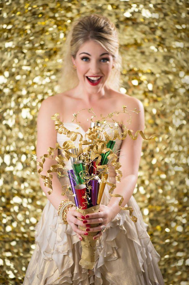 Gold glitter  Styling- Beth Chapman   The White Dress by the shore  Photo- Justin & Mary  Beauty- Jennie Fresa